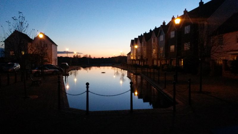 Sunset in Wivenhoe | carlalouise.com