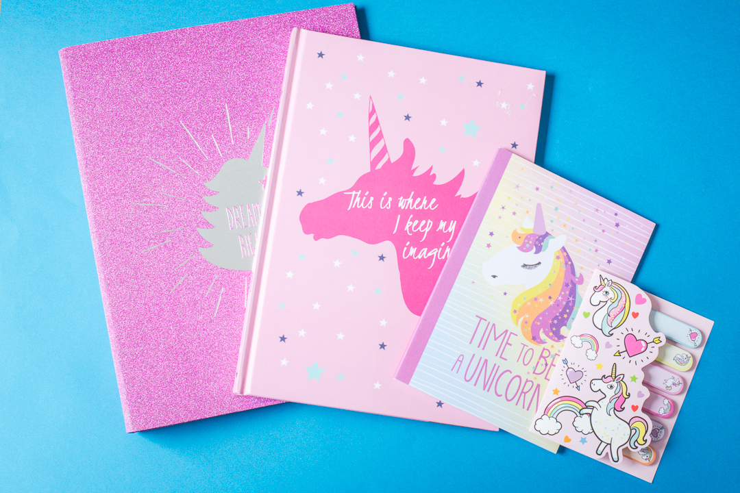 unicorn stationery haul | carlalouise.com