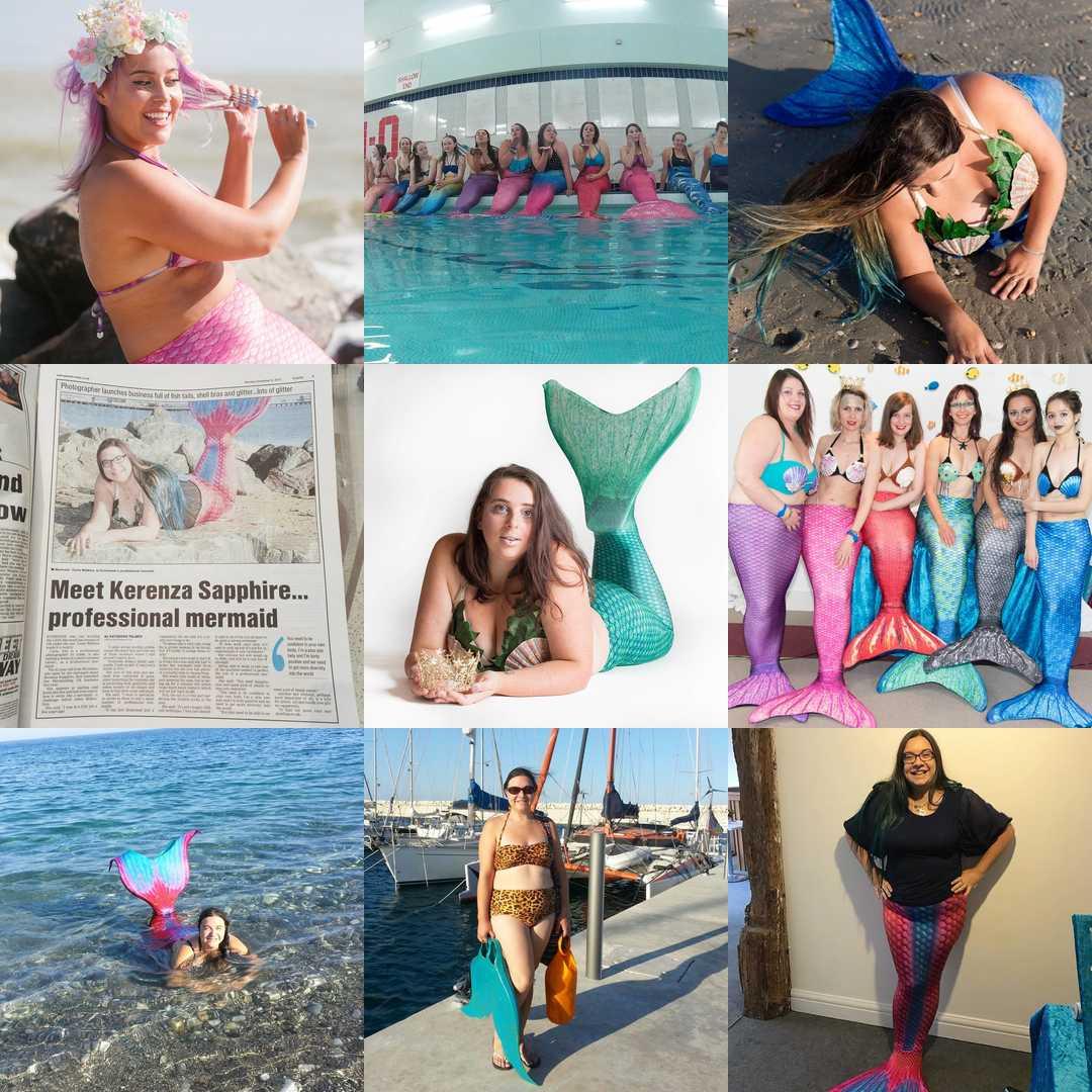 Mermaiding UK best nine 2017