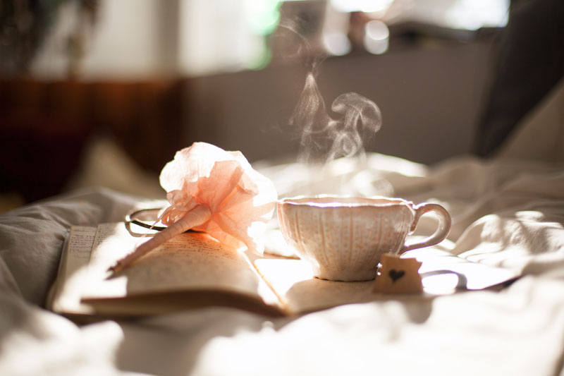 book-tea-bed