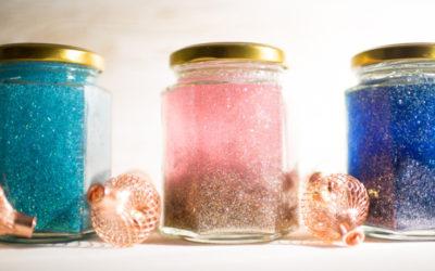 Seasonal musings, winter solstice and glitter jars