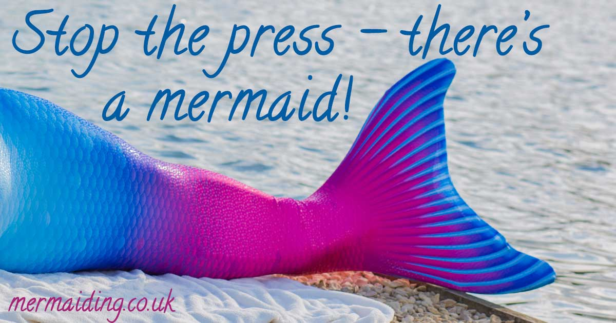 mermaid on the radio | carlalouise.com